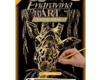 R&L engraving giraffe
