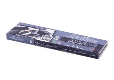 Cretacolor Charcoal Pocket Set 8