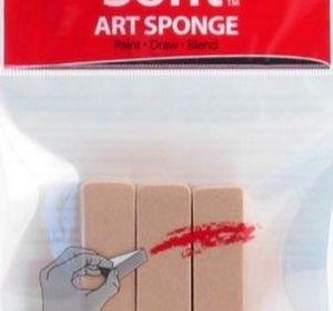 Sofft Art Sponge Flat 3pk