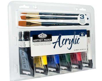 Acrylic 6 Set 3 Brush