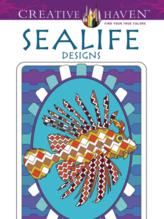 Creative Haven Sealife coloring book