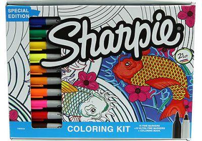 Sharpie Coloring Kit