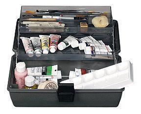 Art Bin 2 Tray Storage Box