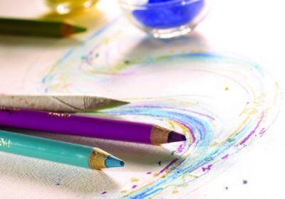 Conte` Pastel Pencil--black