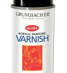 Grumbacher Acrylic Painting Varnish