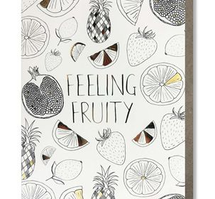 Coloring Card-Feeling Fruity