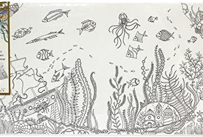 Johanna Basford Coloring Canvas Lost Ocean 12 x 24