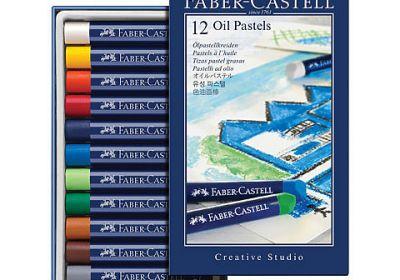 Faber Castell Oil Pastels 12