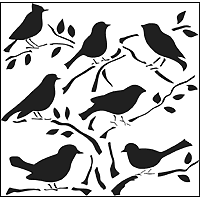 Mini Birds Stencil