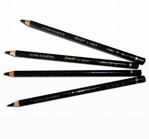 Primo Elite Grande Organic Black Charcoal Pencil