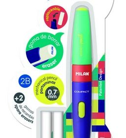 Milan MixEraser Pencil 0.7 mm 2B