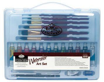 R&L Essentials 25 piece Watercolor Set