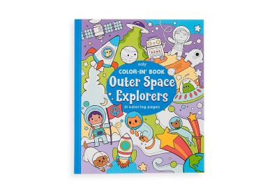 Color it Book-Outer Space Explorers
