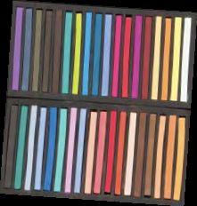 JR set/120 semi hard asst pastels