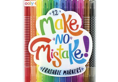Ooly Make No Mistake Markers Set of 12