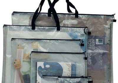 Mesh bag white 16x21