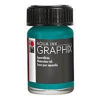 Graphix aqua ink Dark Brown