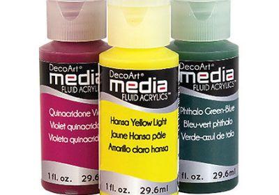 Decoart Fluid Media Raw Sienna