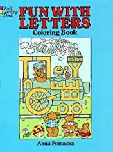 Fun with Letters Coloring Book