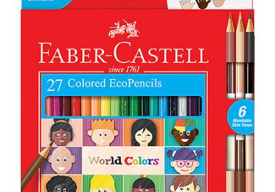 Faber-Castell World Colors 27 Colored EcoPencils