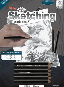 Sketching Made Easy Mini Dolphin