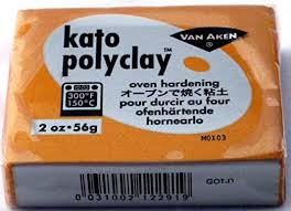 Kato Polymer Clay Copper 12.5 oz