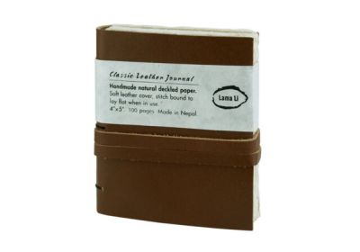 Lama Li 4 x 5 Leather Journal