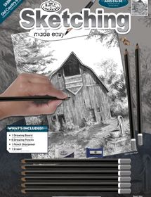 Sketching Made Easy Old Charm Barn