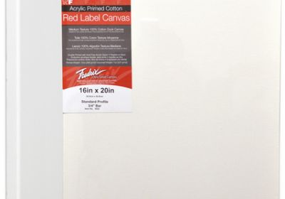 Red Label 8x10 stretched canvas