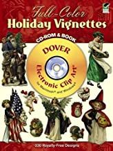 Holiday Vignettes 330 Royalty-Free Designs
