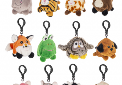 Tossimals Keyclips