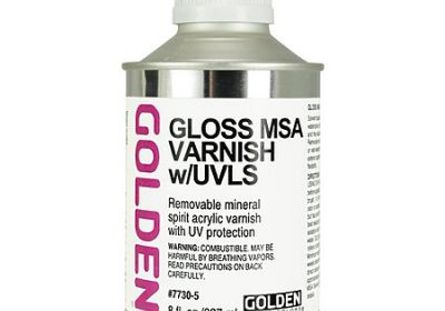 Golden Gloss MSA Varnish