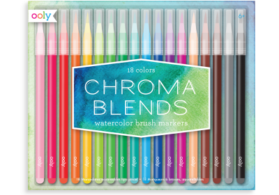Chroma Watercolor Markers 18 Colors