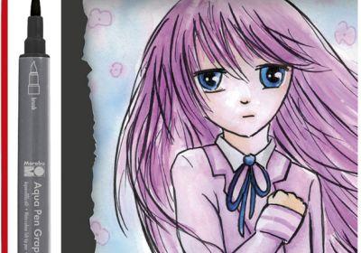 Graphix Aqua Pen Set 6 Manga