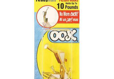 Ookie 10lb Picture Hangers 6 piece