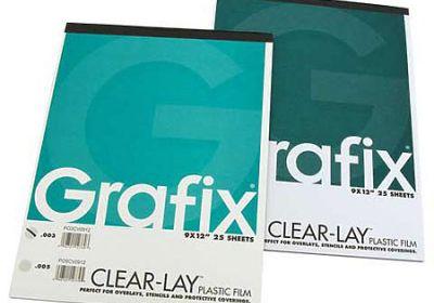 Grafix Clearlay .003 9x12 Pad