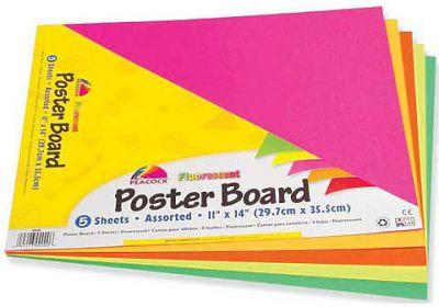 Fluorescent Poster Board