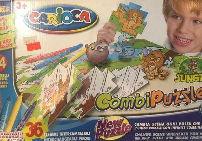 Carioca Jungle Combi Puzzle