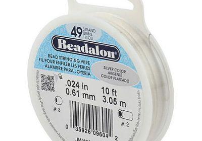 Beadalon Bead Stringing wire 24K Gold plated