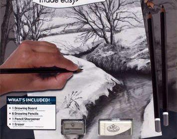 Sketch made easy Winter Creek