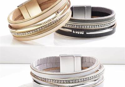 Magnet Closure Stacking Bracelet