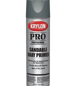 Krylon Pro Sandable Gray Primer 16oz