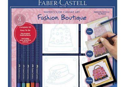 Faber Castell Fahion Boutique Canvas Art Gallery