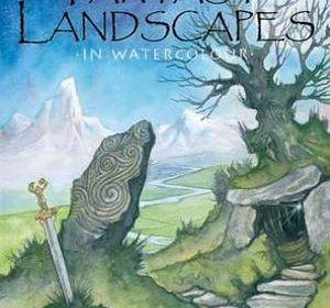 Fantasy Landscapes in w/c