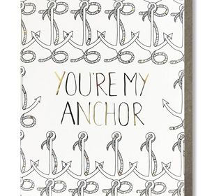 Coloring Card-You're My Anchor