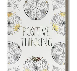 Coloring Card-Positive Thinking