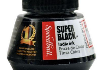 Super Black Speedball Ink