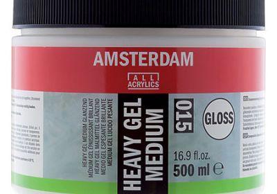 Amsterdam X-heavy Gloss Gel Med 250ml