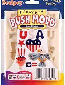 Flexi Push Molds Stars & Stripes