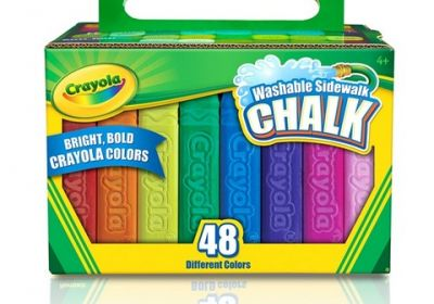 Crayola Washable Sidewalk Chalk 48 set